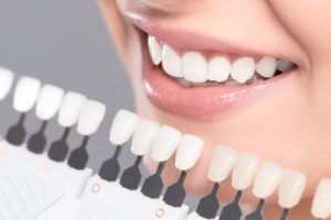 shade guide for teeth whitening