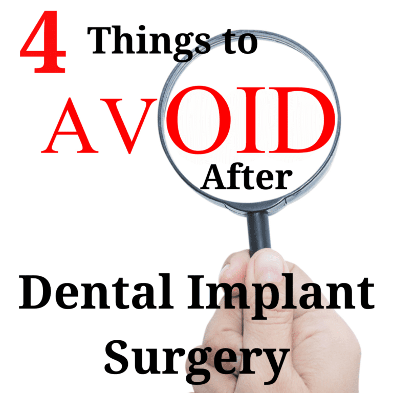 Things to Avoid After Dental Implant Surgery