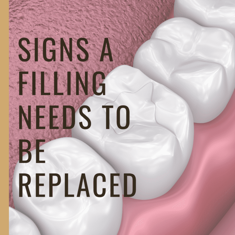 Signs a Filling Needs to be Replaced