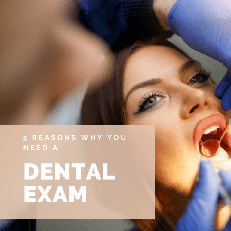 5 Reasons Why You Need a dental exam